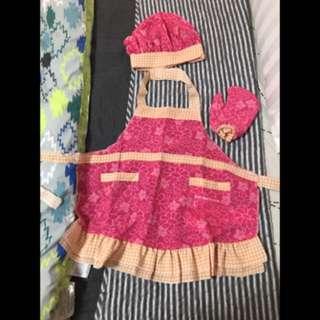Costume Little Girl Baker