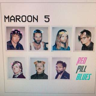 Maroon 5: Red Pill Blue ( Deluxe Edition)