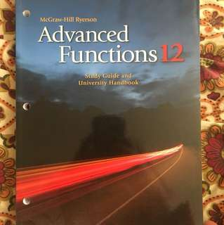 Advanced Functions 12 (McGraw-Hill Ryerson)