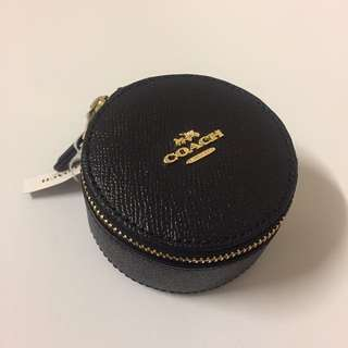 Coach black coin bag 散紙包銀包