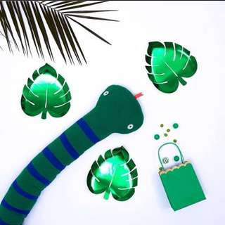 Palm Leaf Party Paper Plate - Birthdays / baby shower / summer / weddings / gathering / cny