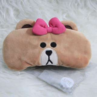 Original Line Cafe Merchandise: Eye Mask of Coco (Brown versi Cewek)