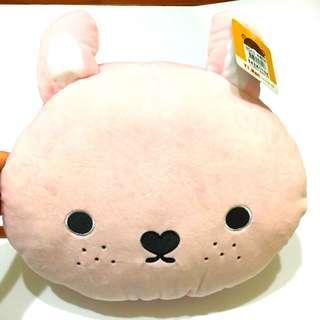 雀斑兔暖手抱枕