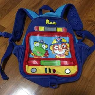 Pororo children school bag