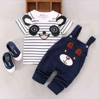 PO❗️ Cute babygirl/ boy cartoon outfit set [0-24 months]
