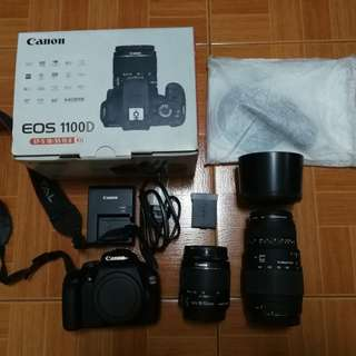 Canon EOS 1100D with freebies