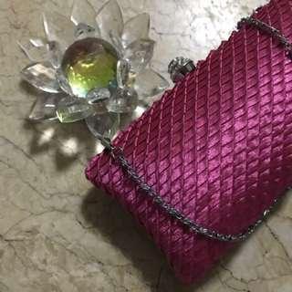 Hot Pink Clutch 👛 bag