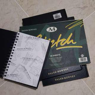 DALER-ROWNEY sketch books