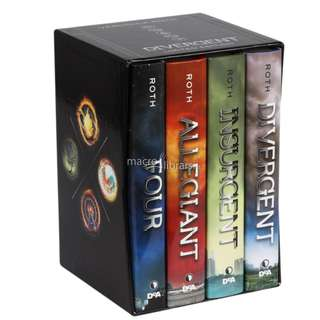 """Divergent Series """"The Ultimate Four Book Collection"""""""