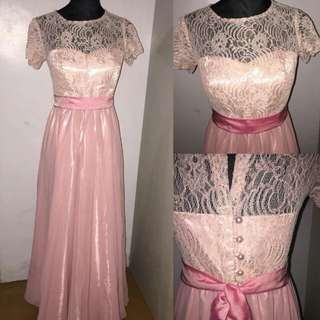 repriced customized bridesmaids gown 700only