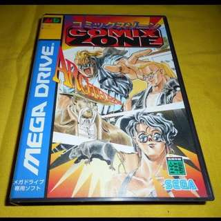 Mega Drive - Comic Zone (Original) per pcs
