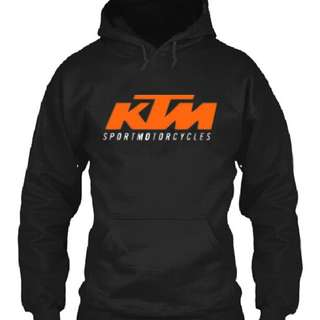 KTM Racing sport motorcycles hoodie sweater jacket