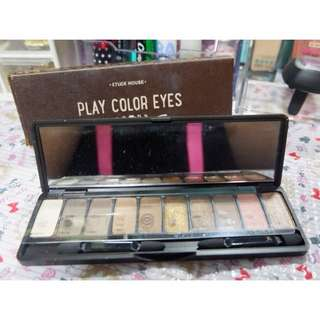 Etude House eyeshadow palette makeup korean innisfree peripera clio tony moly