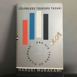 Colourless by Haruki Murakami