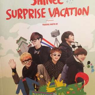 Shinee Surprise Vacation Travel Note01 寫真書
