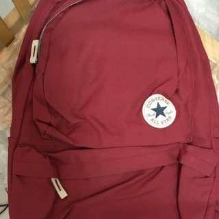 Converse 紅色全新後背包