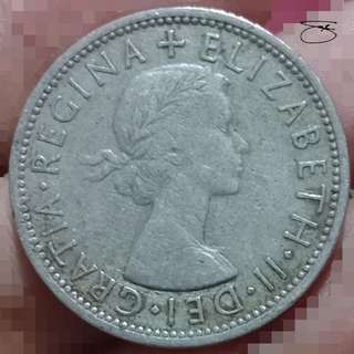 1966 two shillings