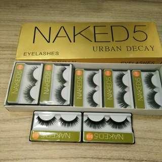 018 bulu mata palsu / fake eyelashes brand naked 5