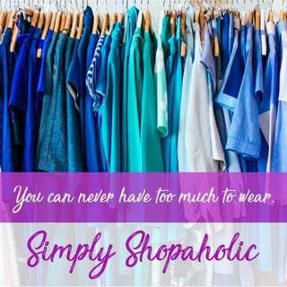 Simply Shopaholic Clothing Line