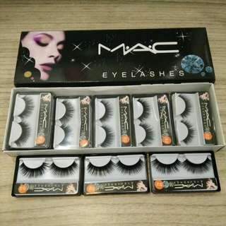 02 bulu mata palsu / fake eyelashes mac