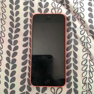iPhone 5c (Pink) *BROKEN*