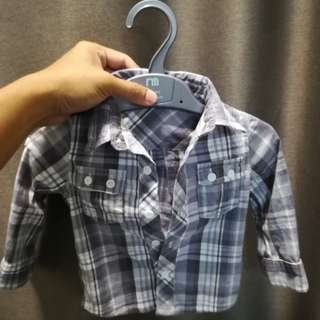 Mothercare Western Shirt 9-12m