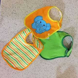 3pcs Mothercare Bibs