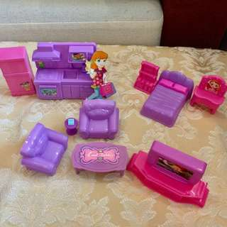 Furniture mini collection for Princess