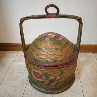 Rattan wedding Basket