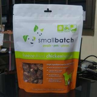 Smallbatch Freeze Dried Chicken Hearts (3.5oz)