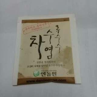 韓國原裝進口玉米鬚茶1元/包