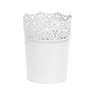 IKEA Skurar Pot Tanaman Dalam Putih