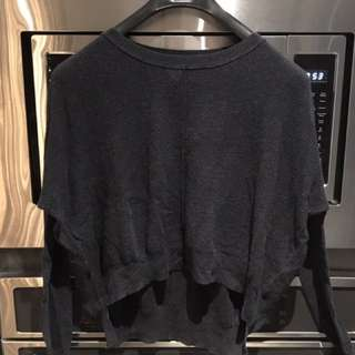 Aritzia Wilfred Silk Sweater XS