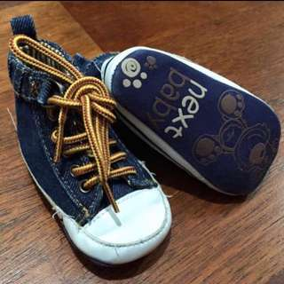Next UK Baby Denim Shoes
