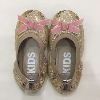 Cotton On Gold Glitter Shoes