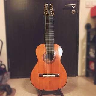 Ten String Classical Guitar 10 String Leonardo Apa / Altamira's Hanson Yao