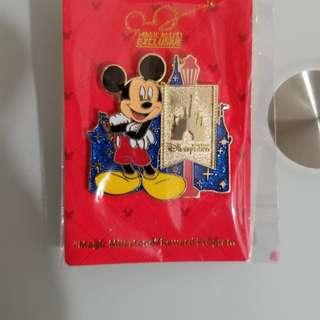 迪士尼 奇妙處處通 獨有徽章 千金難買
