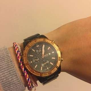 focus 黑鋼手錶