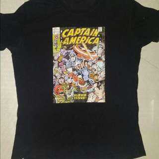 Take All for 350 Captain America Shirt(XL) Adidas Giants (L) Necobuchi-san (L)
