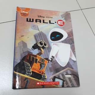 wall e book by Disney