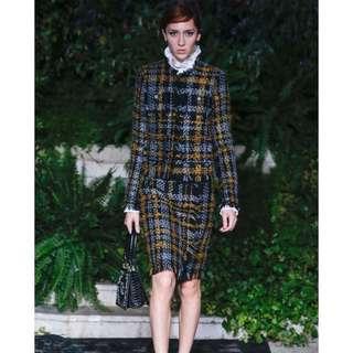 Erdem x H&M Tweed Jacket and Skirt