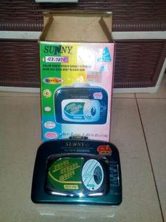 Walkman brand sunny ( malaysia )