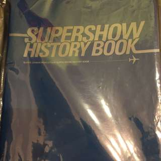 Super Junior 演唱會官方週邊 SuperShow4 History Book