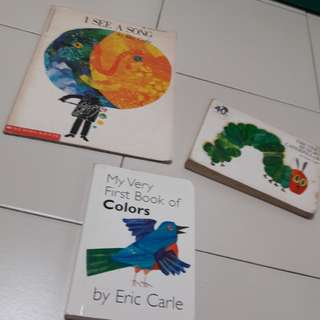 toddler and baby book by Eric carle