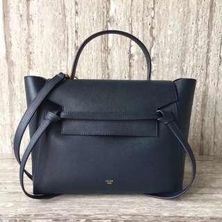 賽琳 98311 新升級 Celine Belt Bag手掌紋鯰魚包 配原版盒子小號尺寸:28-16-22