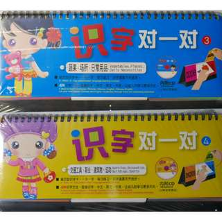 Preschoolers' Language learning concept with Chinese, English and Picture