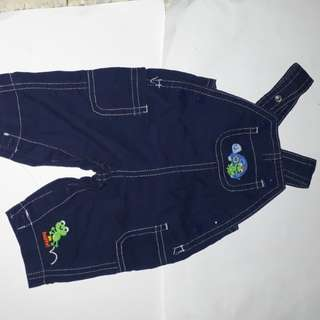 Child of mine overall and Target Baby short pants