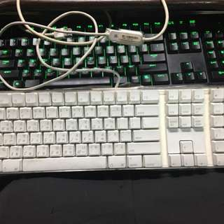 Apple 有線鍵盤