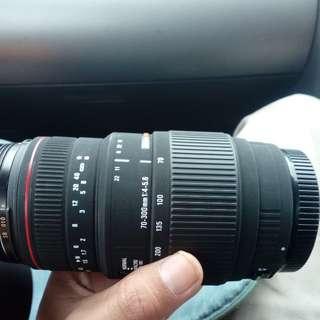 70-300mm lens