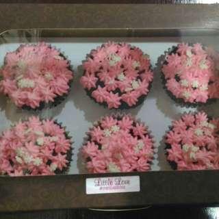 Choco moist cupcakes